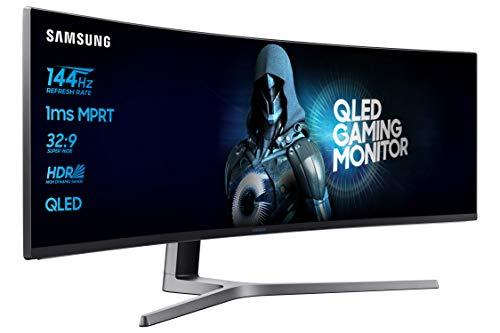 Samsung C49HG90DMU 124,20 cm (49 Zoll) Curved Gaming Monitor (3840 x 1080 Pixel, Ultra Wide 32:9 Format, 144hz, 1ms) mattschwarz